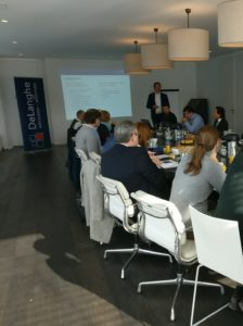 Frank De Langhe opent lunch seminarie Opportuniteiten Zomerakkoord 9.11.2017